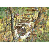 Jigsaw puzzle 1000 pcs - Climbing - Calligaro (by Heye)