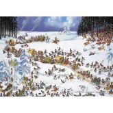 2000 pcs - Napoleon's Winter - Loup (by Heye)