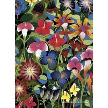 Jigsaw puzzle 1000 pcs - Flowers - Tinga Tinga (by Heye)