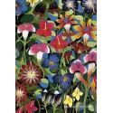 1000 pcs - Flowers - Tinga Tinga (by Heye)