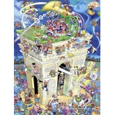 1500 pcs - Arc De Triomphe - Crisp (by Heye)