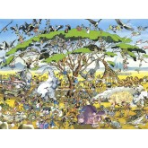 Jigsaw puzzle 1500 pcs - Safari - Calligaro (by Heye)