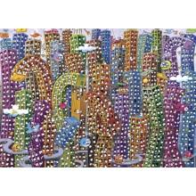 Jigsaw puzzle 2000 pcs - City - Mordillo (by Heye)