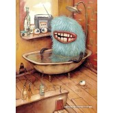 Jigsaw puzzle 1000 pcs - Bathtub  - Mateo Dineen (by Heye)