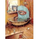 1000 pcs - Bathtub - Zozoville - Mateo Dineen (by Heye)