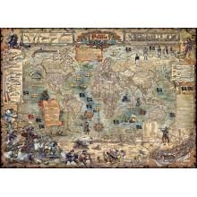 Jigsaw puzzle 3000 pcs - Pirate World  (by Heye)