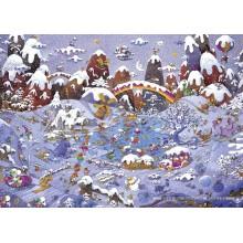 Jigsaw puzzle 3000 pcs - Winterland - Mordillo (by Heye)