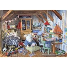 Jigsaw puzzle 1000 pcs - Reader - Karina Schaapman (by Heye)
