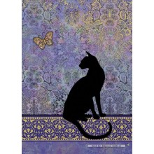 Jigsaw puzzle 1000 pcs - Cats Silhouette  - Jane Crowther (by Heye)