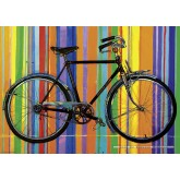 Jigsaw puzzle 1000 pcs - Freedom Deluxe  - Bike Art (by Heye)