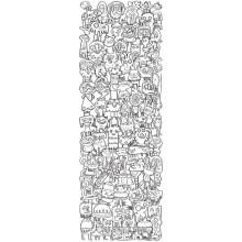 Jigsaw puzzle 1000 pcs - Colour Me!  - Jon Burgerman (by Heye)