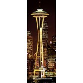 Jigsaw puzzle 1000 pcs - Space Needle  - Vertical (by Heye)