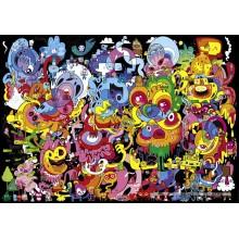 Jigsaw puzzle 4000 pcs - Psychedoodlic - Jon Burgerman (by Heye)