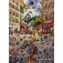 Jigsaw puzzle 2000 pcs - Apocalypse - Loup (by Heye)