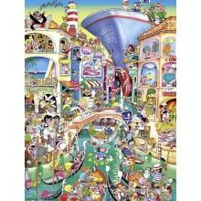 Jigsaw puzzle 1500 pcs - Venice - Crisp (by Heye)