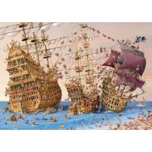 Jigsaw puzzle 1000 pcs - Corsair - Francois Ruyer (by Heye)