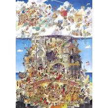 Jigsaw puzzle 1500 pcs - Heaven & Hell - Prades (by Heye)