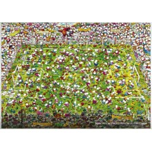 Jigsaw puzzle 4000 pcs - Crazy World Cup - Mordillo (by Heye)
