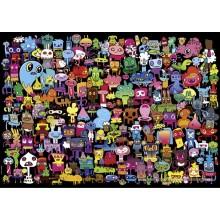 Jigsaw puzzle 2000 pcs - Hi there! - Jon Burgerman (by Heye)