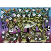 Jigsaw puzzle 1000 pcs - Wildcat Family - Tinga Tinga (by Heye)