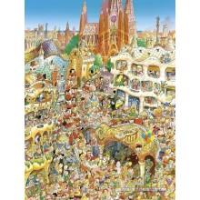 Jigsaw puzzle 1500 pcs - Barcelona - Prades (by Heye)