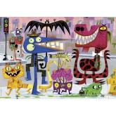 Jigsaw puzzle 1000 pcs - Monstertown - Michael Slack (by Heye)