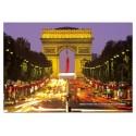 1000 pcs - Arc De Triomphe - La Belle France (by Educa)