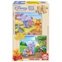 9 pcs - 2x9 WINNIE & HEFFALUMP - Winnie The Pooh (by Educa)