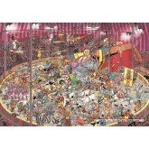 Jigsaw puzzle 3000 pcs - The Circus - Jan van Haasteren (by Jumbo)