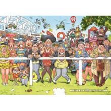 Jigsaw puzzle 1000 pcs - Wasgij Original 15 - Run Like The Wind ! - Graham Thompson (by Jumbo)