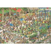 Jigsaw puzzle 1000 pcs - The Playground - Jan van Haasteren (by Jumbo)