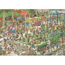 Jigsaw puzzle 1000 pcs - The Playground - Jan van Haasteren (by Jumbo)