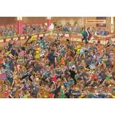 Jigsaw puzzle 1000 pcs - Ballroom Dancing - Jan van Haasteren (by Jumbo)