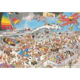 Jigsaw puzzle 1000 pcs - At the beach - Jan van Haasteren (by Jumbo)