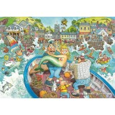 Jigsaw puzzle 1000 pcs - Wasgij Original 16 - Catch of the Day - Wasgij Original (by Jumbo)