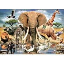 Jigsaw puzzle 1000 pcs - Kenyan Dreams (by Jumbo)