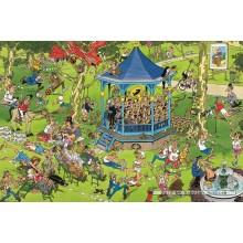 Jigsaw puzzle 1500 pcs - The Bandstand - Jan van Haasteren (by Jumbo)