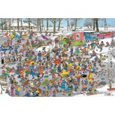 Jigsaw puzzle 3000 pcs - On Thin Ice - Jan van Haasteren (by Jumbo)