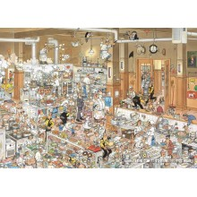 Jigsaw puzzle 1000 pcs - The Kitchen - Jan van Haasteren (by Jumbo)