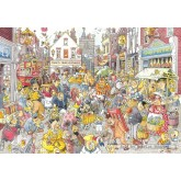 Jigsaw puzzle 1000 pcs - Wasgij Destiny 10 - High Street Hassle - Graham Thompson (by Jumbo)