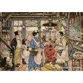 Jigsaw puzzle 1000 pcs - The Grocery - Anton Pieck (by Jumbo)