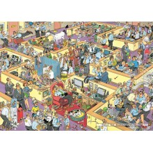Jigsaw puzzle 1000 pcs - The Office - Jan van Haasteren (by Jumbo)