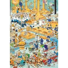 Jigsaw puzzle 500 pcs - The Brewery - Jan van Haasteren (by Jumbo)