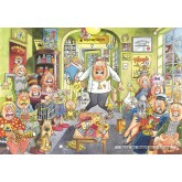 Jigsaw puzzle 1000 pcs - Wasgij Original 18 Uproar at the Vets - Graham Thompson (by Jumbo)