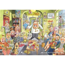 Jigsaw puzzle 1000 pcs - Wasgij Original 18 Uproar at the Vets - Graham Thompson (by Jumbo)