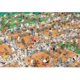 Jigsaw puzzle 2000 pcs - The Tennis Court - Jan van Haasteren (by Jumbo)