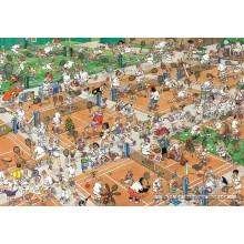 Jigsaw puzzle 2000 pcs - The Tennis Court - Jan van Haasteren (by Jumbo)