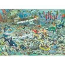 Jigsaw puzzle 1000 pcs - Deep Sea Fun - Jan van Haasteren (by Jumbo)