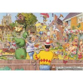Jigsaw puzzle 500 pcs - Wasgij Original 6 - Blooming Marvellous - Graham Thompson (by Jumbo)