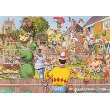 Jigsaw puzzle 500 pcs - Wasgij Original 6 - Blooming Marvellous - Graham Thompson (by Jumbo)